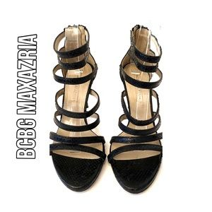 BCBG MAXAZRIA Strappy Sandals